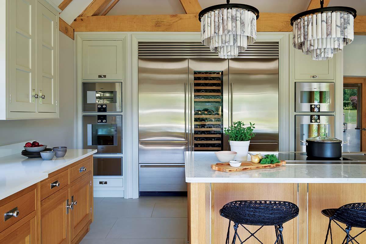 fridge-freezer-wine cooling wall