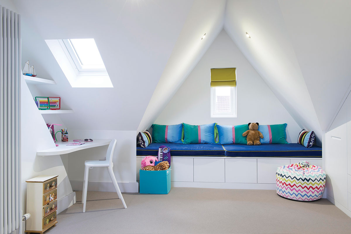 Kids room in loft conversion