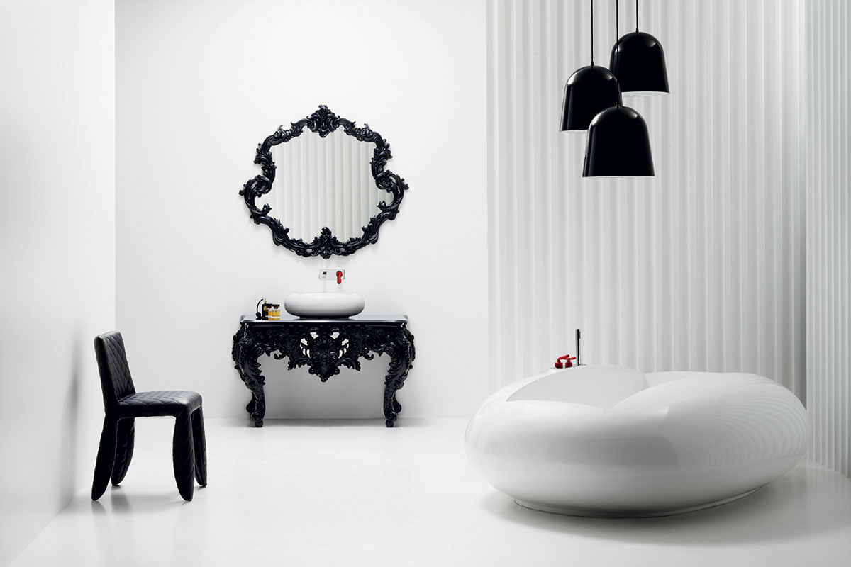 Marcel Wanders bathroom collection for Bisazza