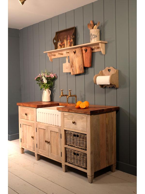 Real wood worktop