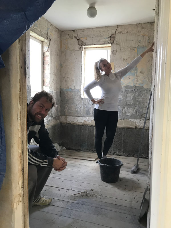 the ups and downs of renovating
