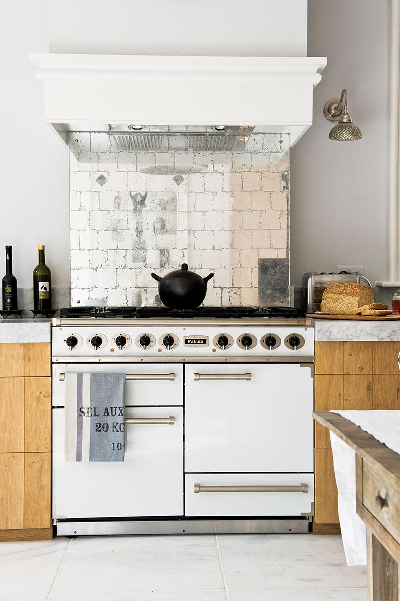 white range cooker by Falcon