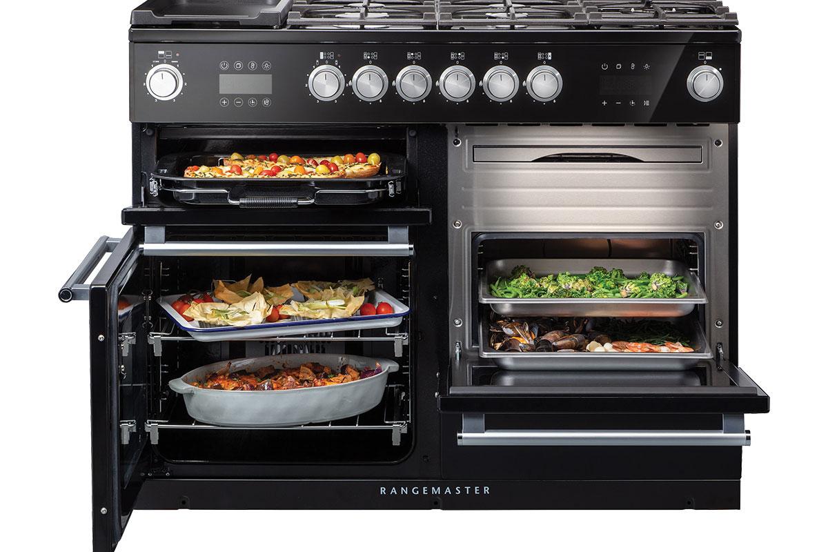 Nexus steam range cooker by Rangemaster