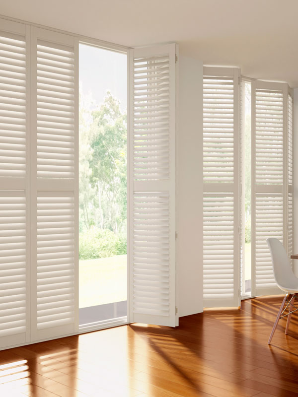 Full-height shutters
