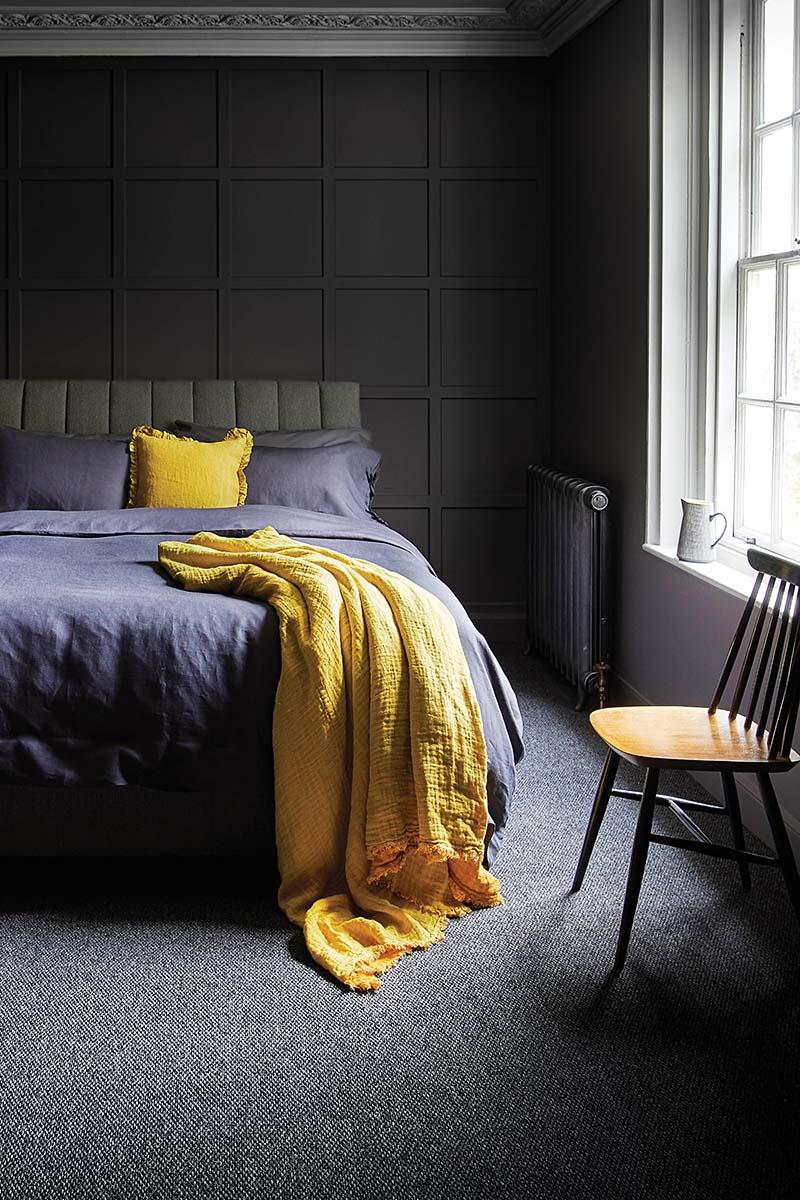 Carpet Right dark bedroom