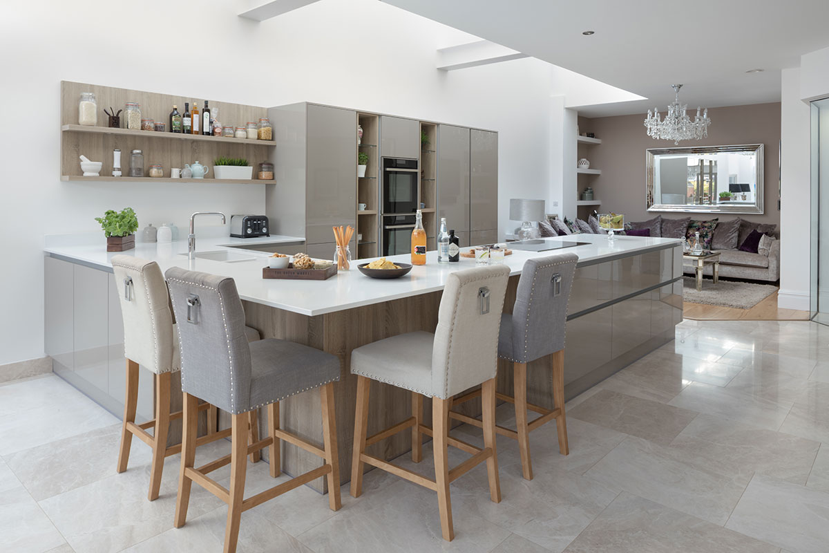 Masterclass grey kitchen