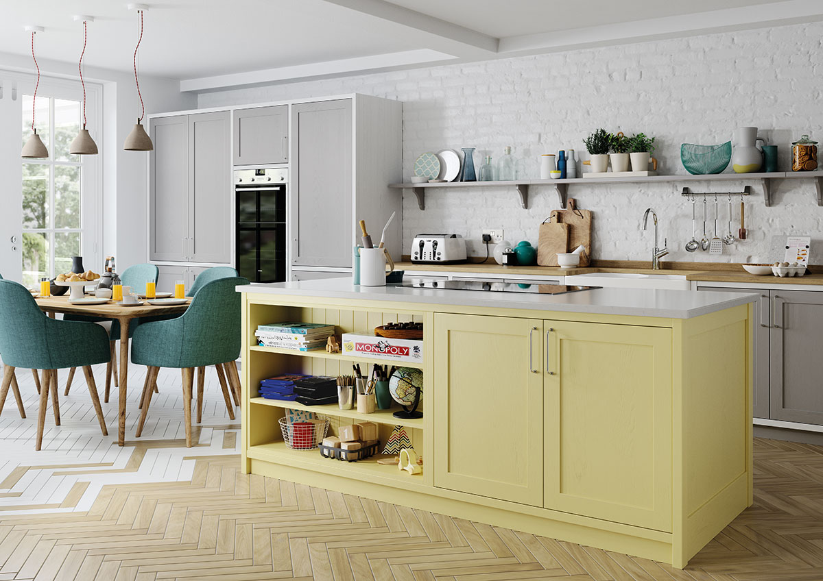 Its easy to cook with a well laid out kitchen