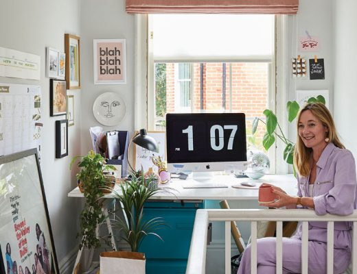 Ciara Elliott in her home office
