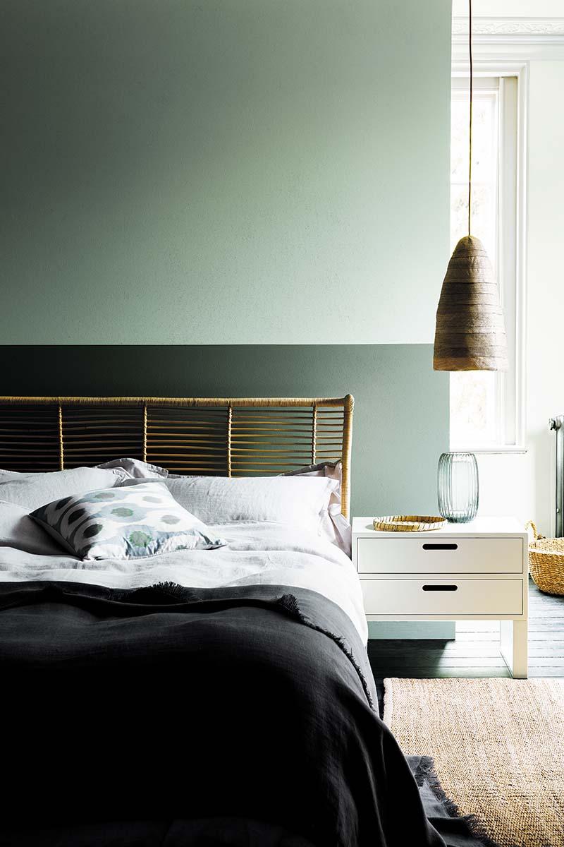 Little Greene bedroom