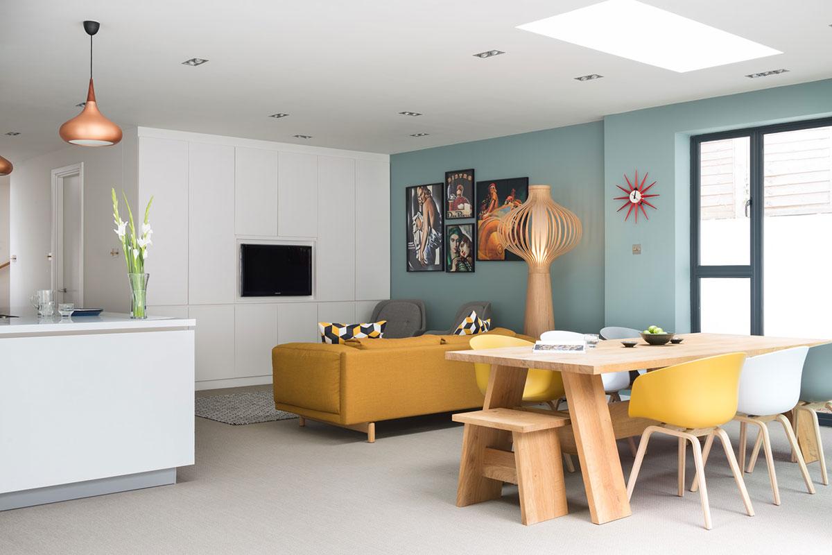 Watkins McCrae open-plan kitchen living dining room