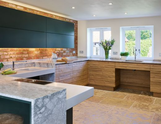 Inclusive design Roundhouse wheelchair accessible kitchen