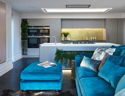Project One Wales open-plan kitchen-diner
