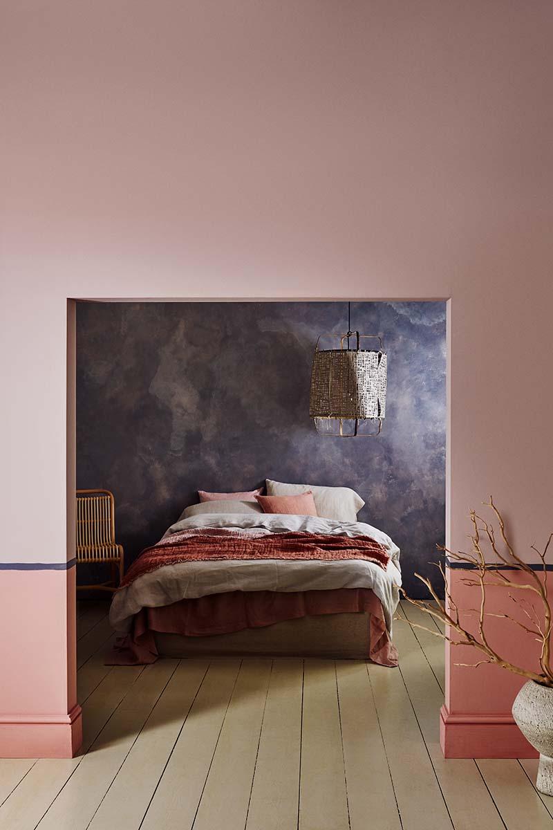 Crown Matt emulsion bedroom walls
