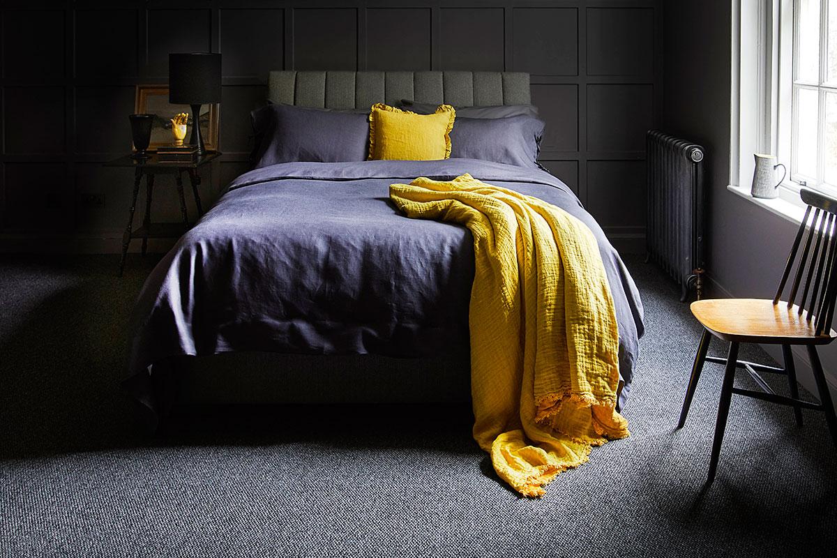Renovate a bedroom moody dark bedroom scheme