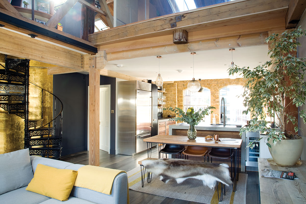 A warehouse renovation