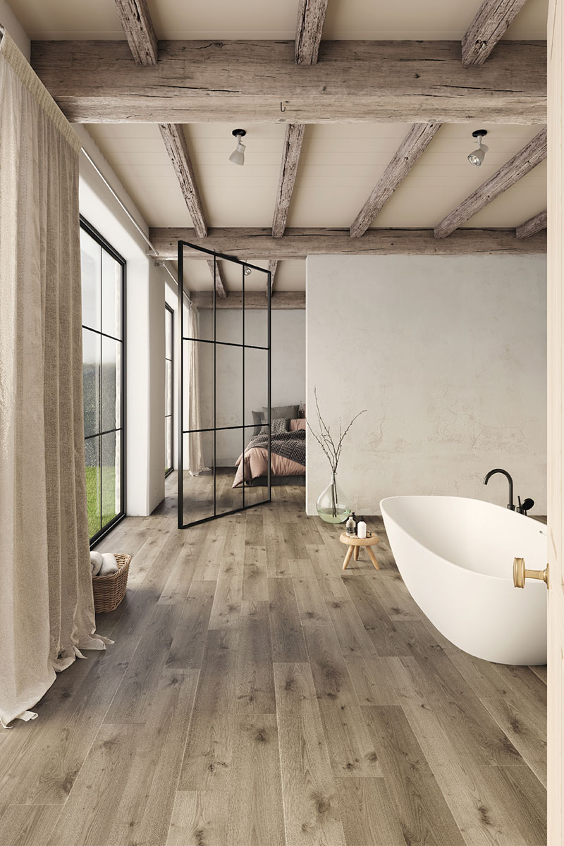 How to renovate a bedroom: flooring ideas