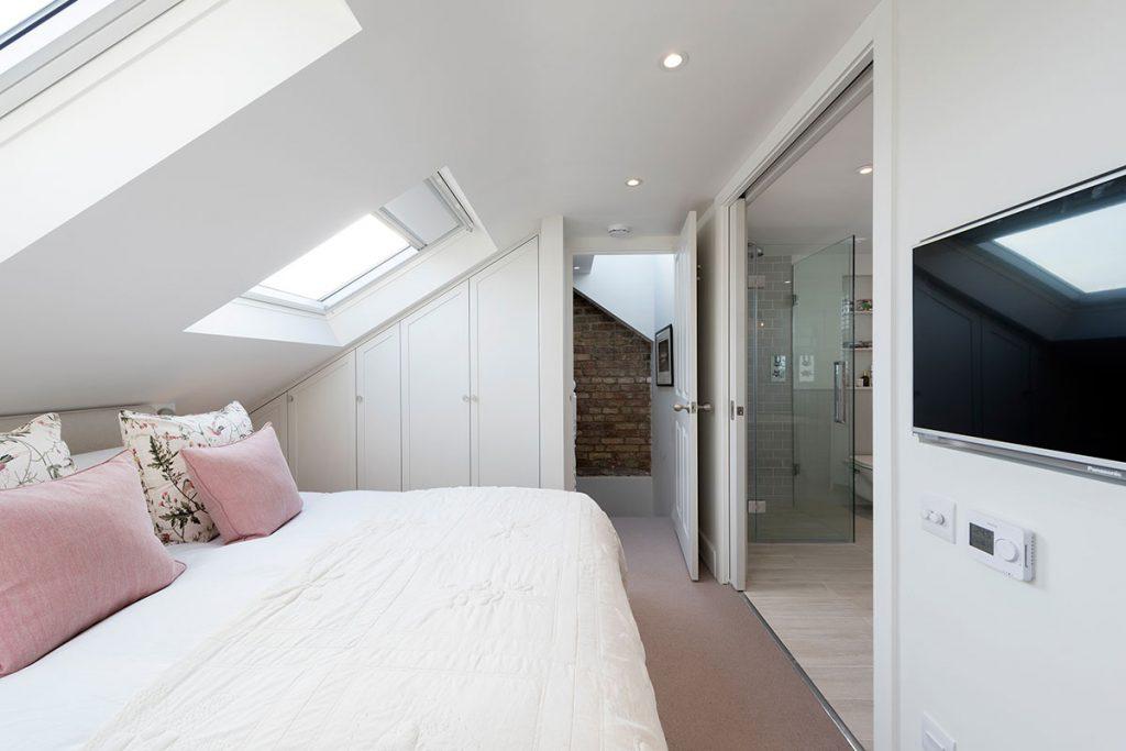 Light Intervention light bedroom scheme