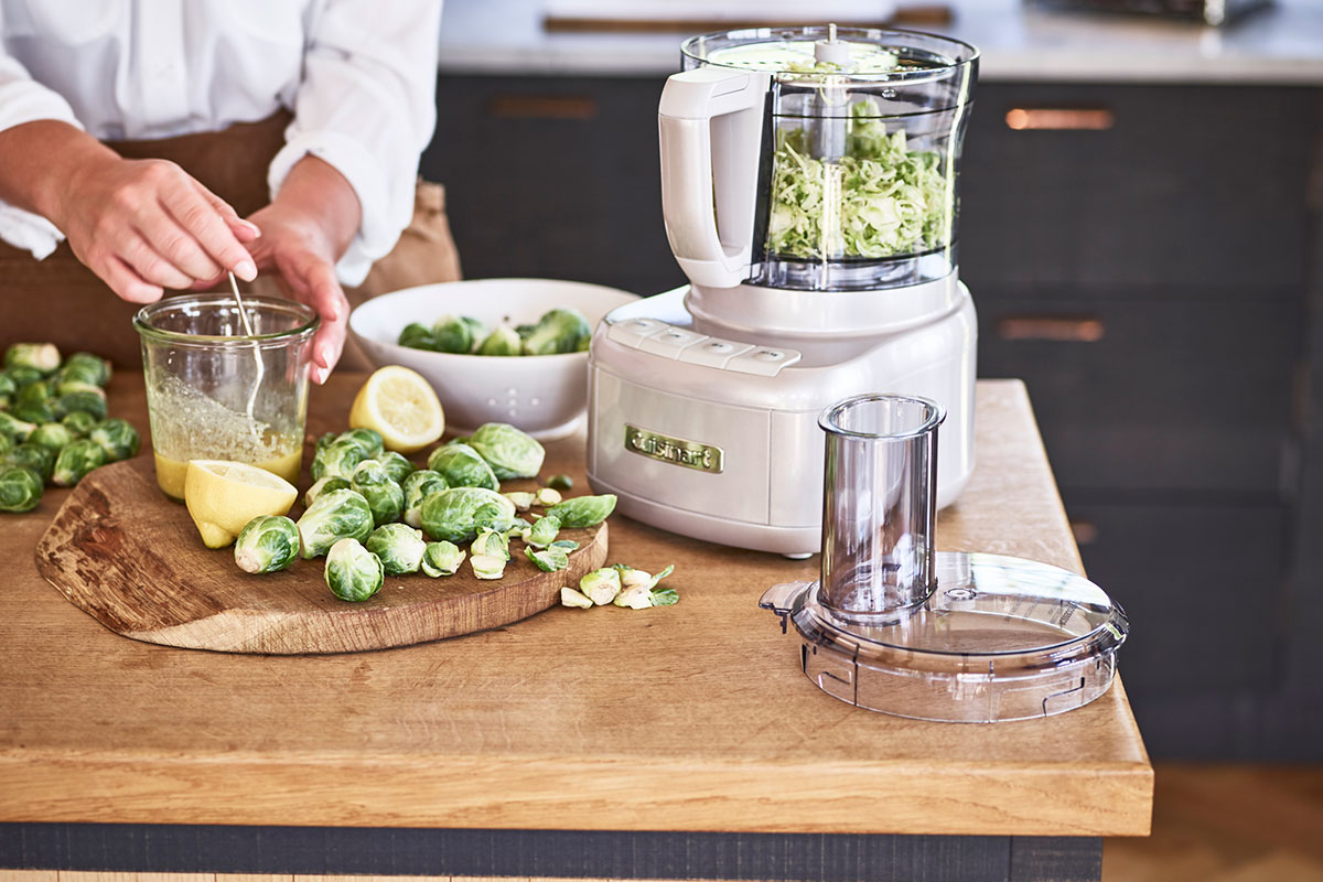 Cuisinart food processor with sprouts
