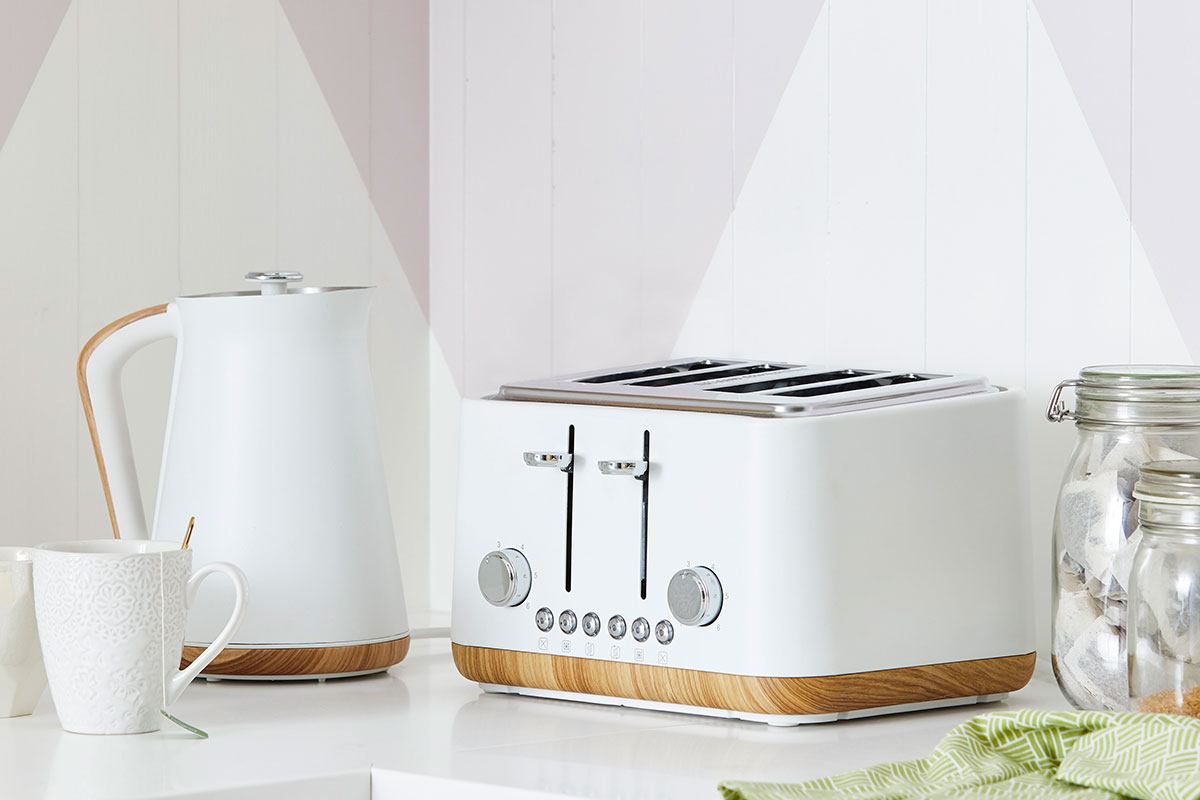 Dunelm kettle and toaster set