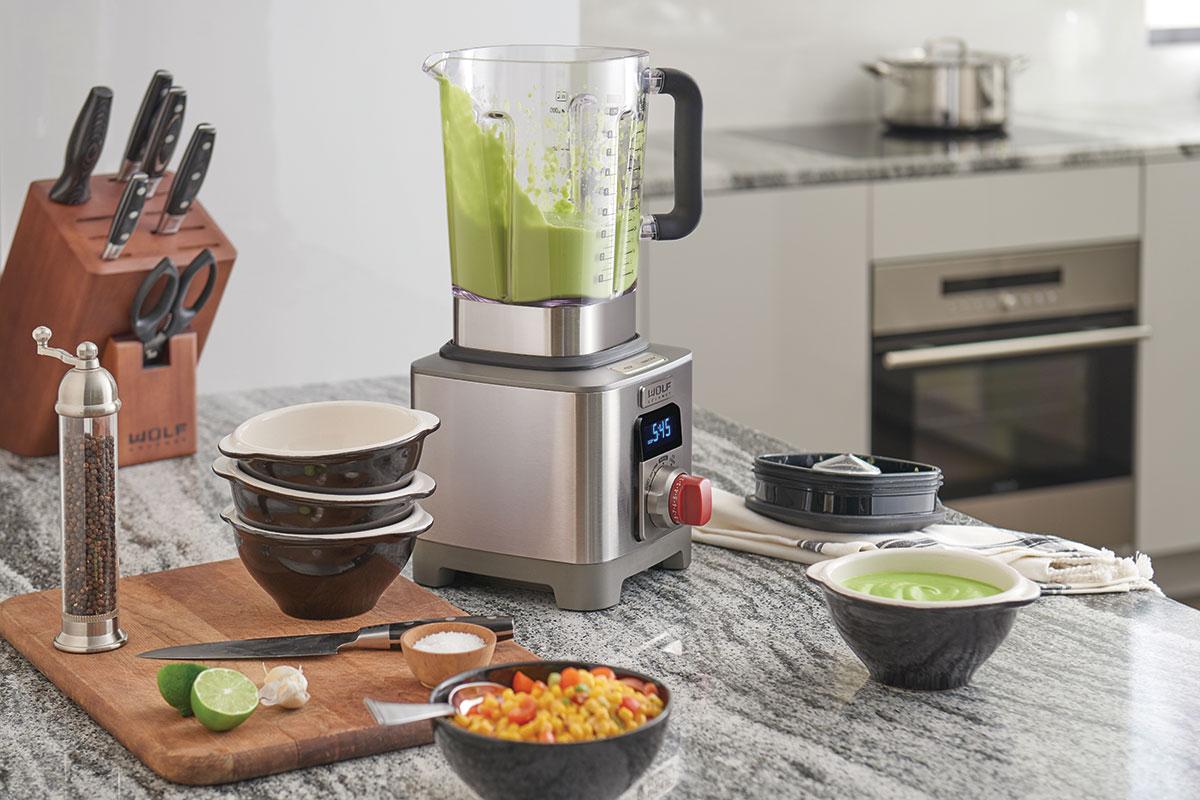 Countertop appliances high-end Wolf blender