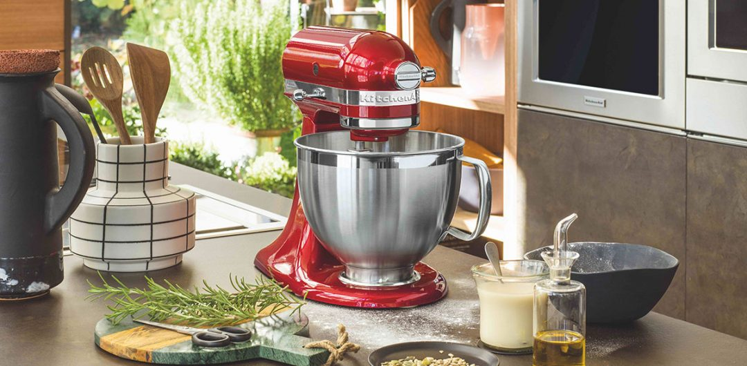 Countertop Appliances Kitchen Aid Candy Apple Red tilt-head stand mixer