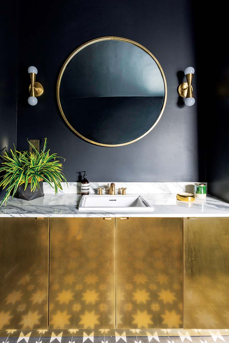 Gold basin unit