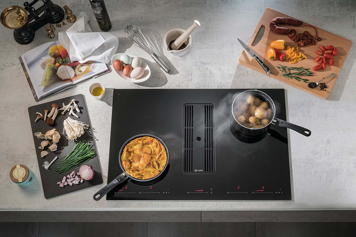 Caple extractor hob