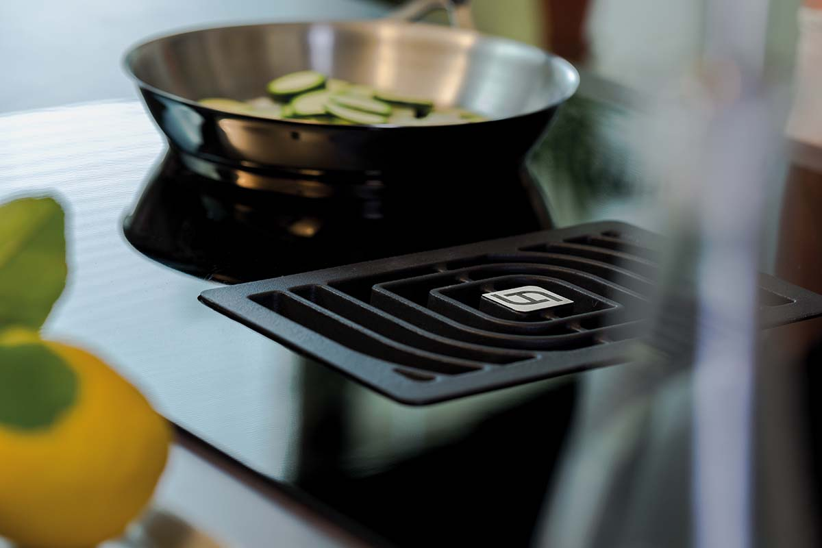 Faber small extractor hob