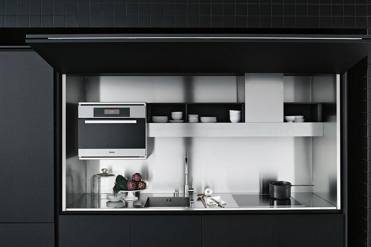 Boffi hidden kitchen