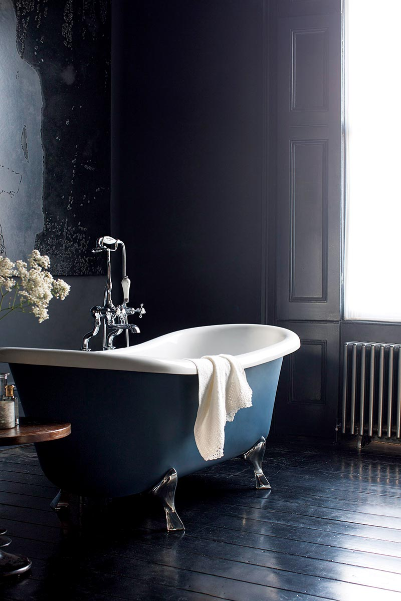 roll top freestanding bath