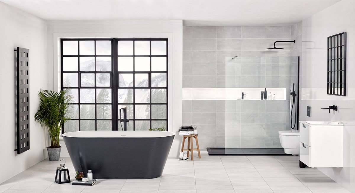 Bath and shower combo