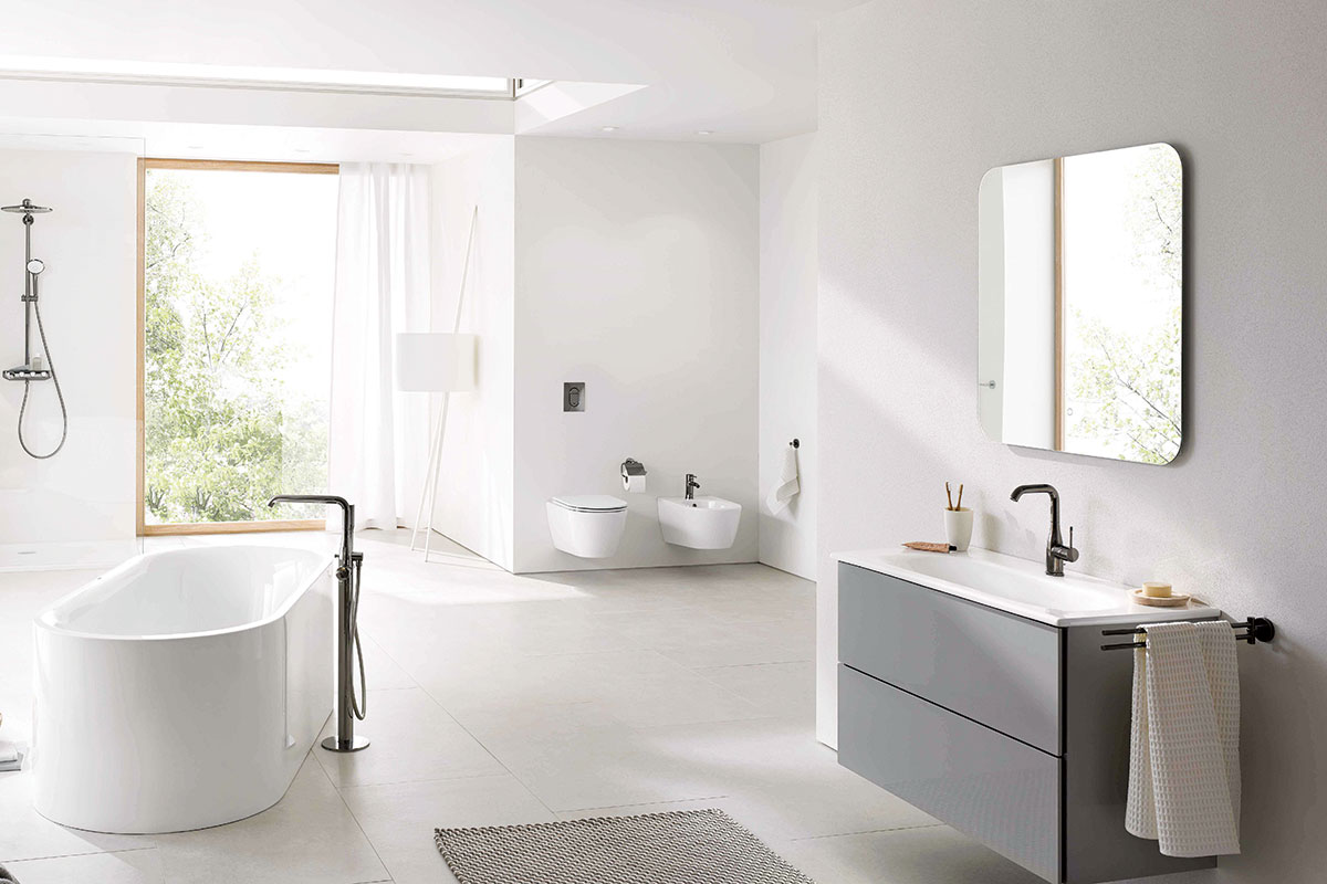 Grohe smart home bathtub