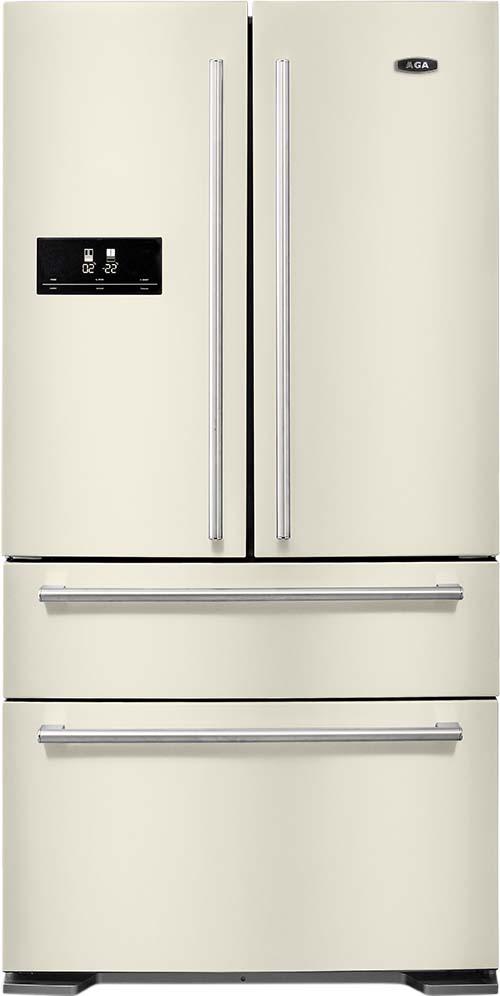 The traditional style fridge freezer