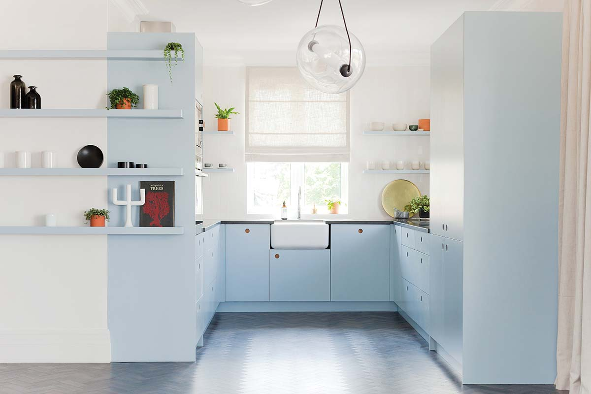 Blue Naked Kitchens