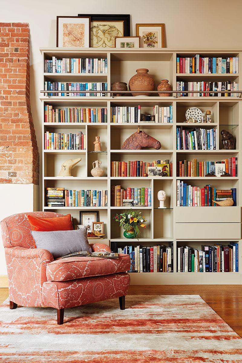Neville Johnson reading area