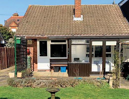 Childhood home bungalow renovation