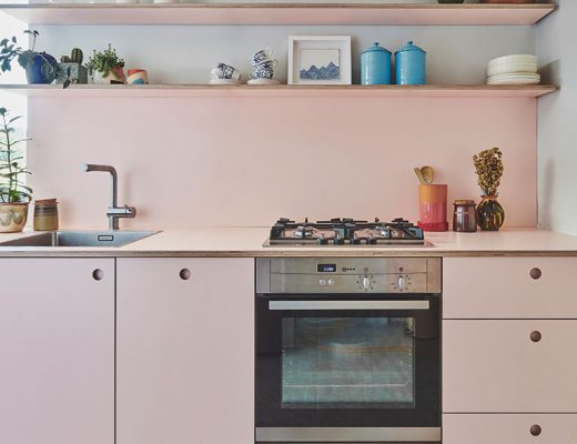 Pink compact kitchen Pluck main