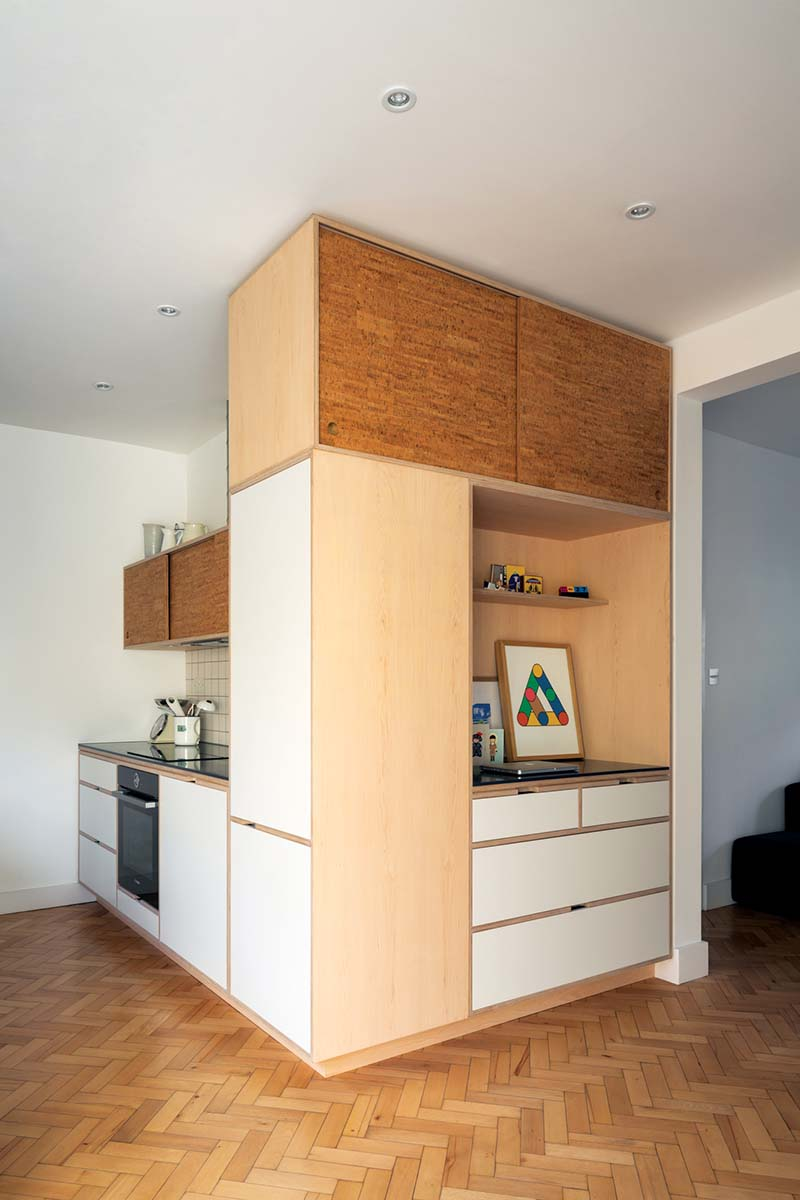 Uncommon Projects compact kitchen
