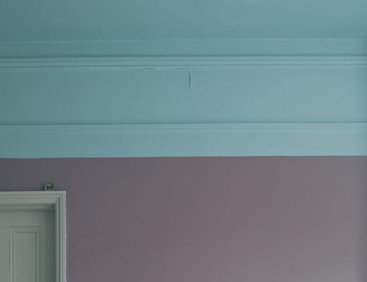 Farrow & Ball two-tone scheme