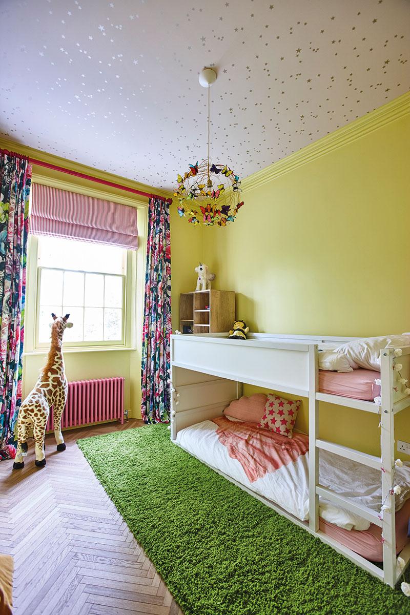 Whimsical child's bedroom