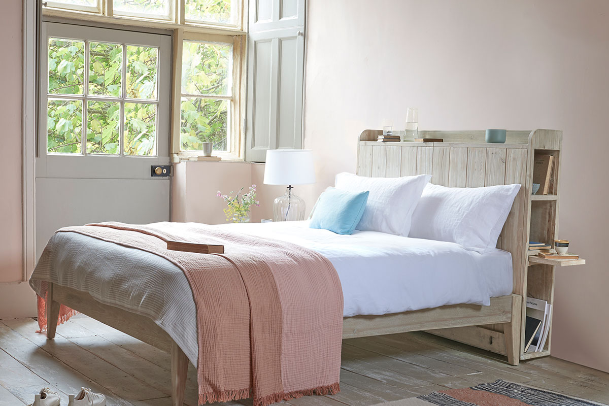 Multi-functional bed with storage