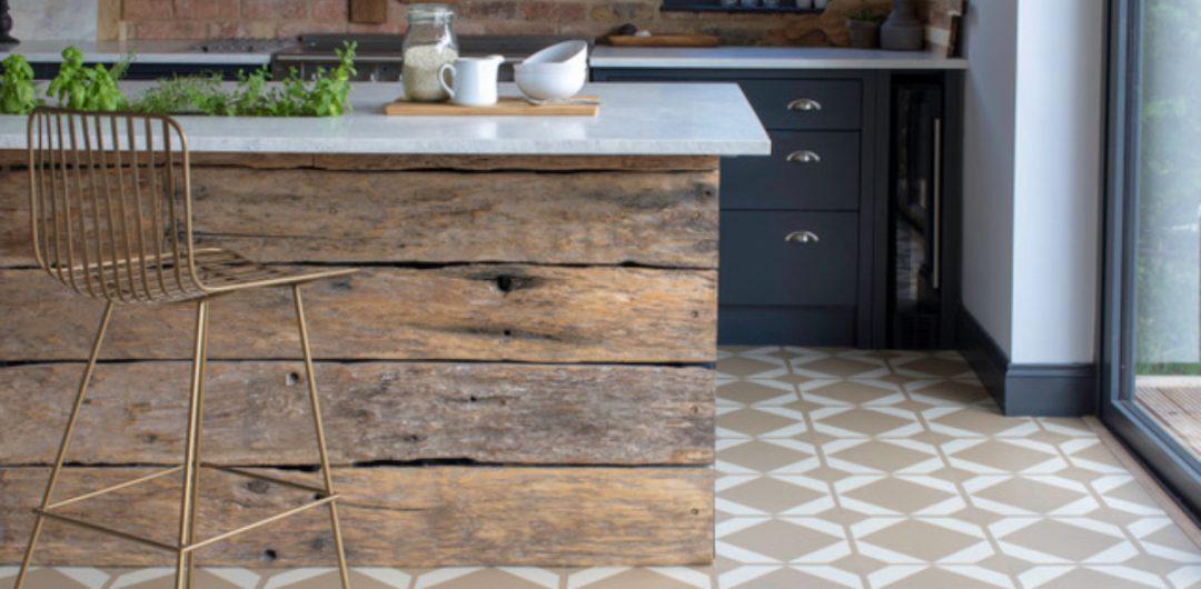 Vinyl flooring kitchen