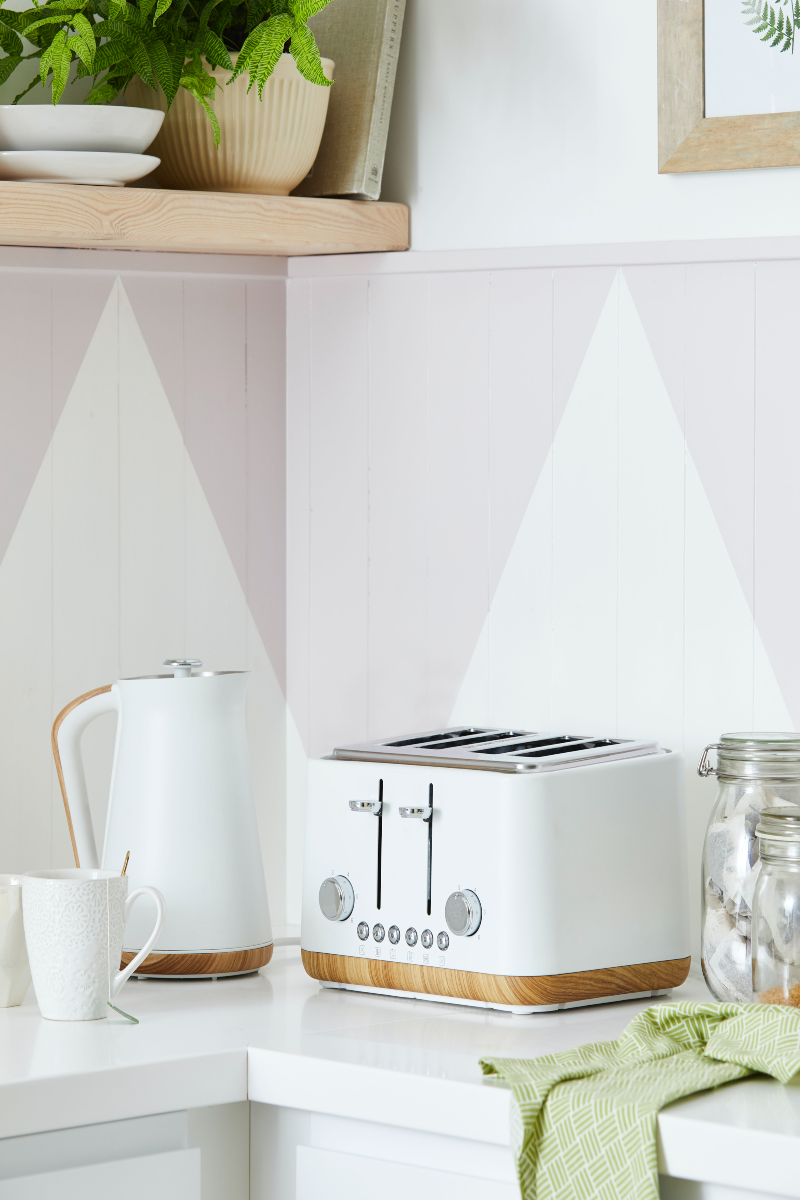 Matt kettle and toaster