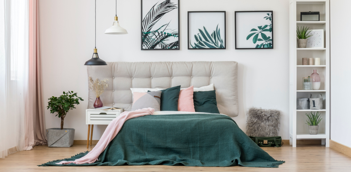Trend Alert How To Add Pink And Green Accents To Your Home These Three Rooms