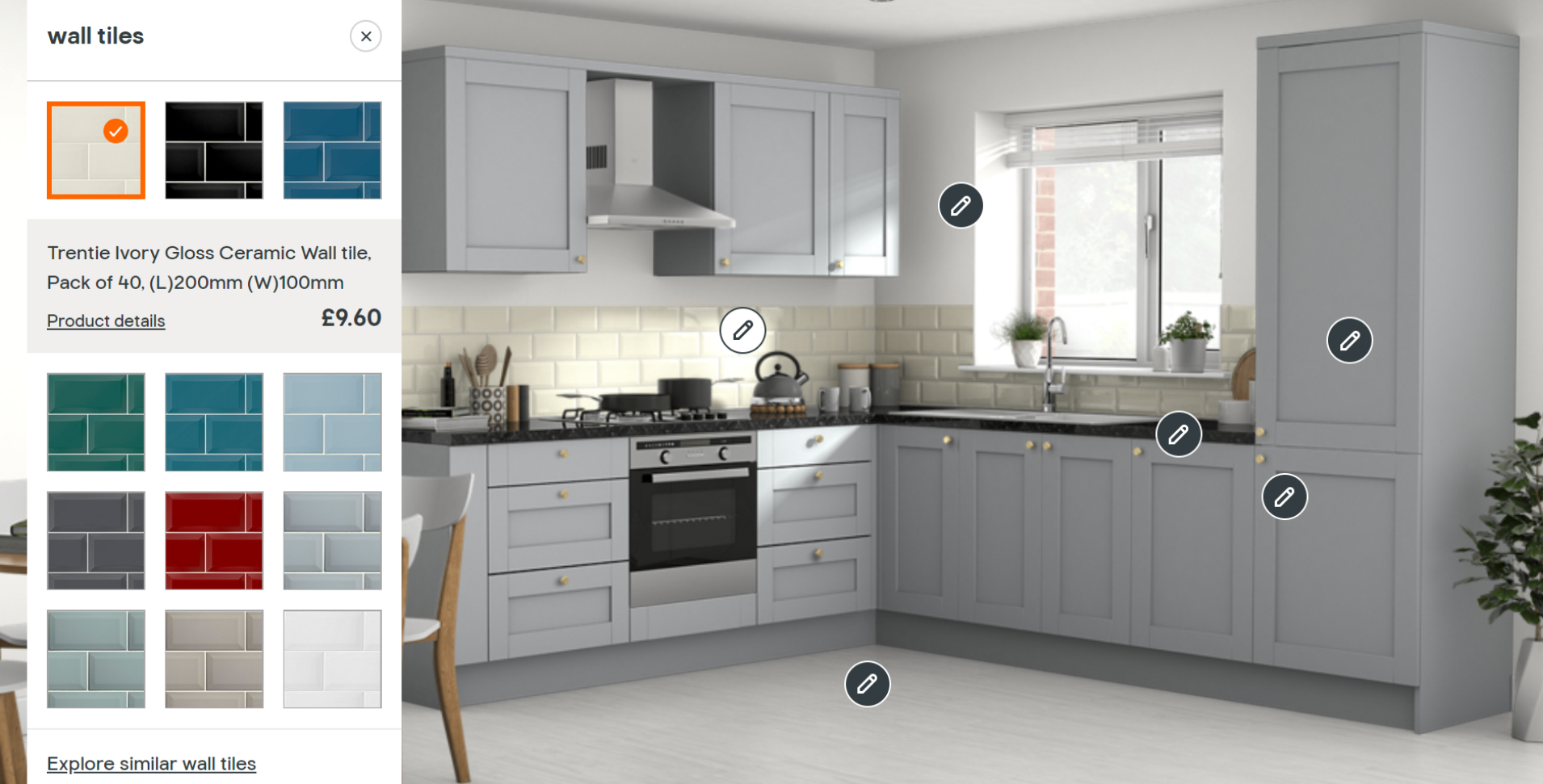 Kitchen planning tools to use at home