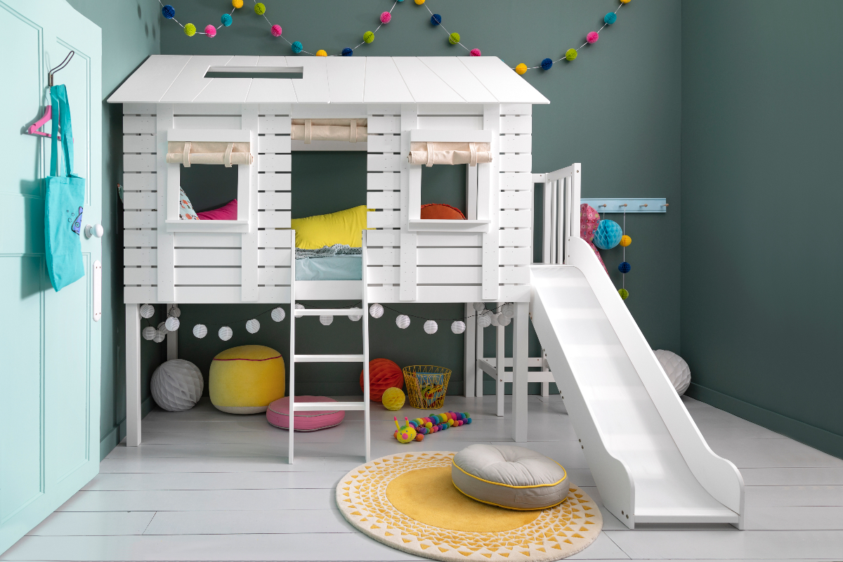 Playful kids bedroom