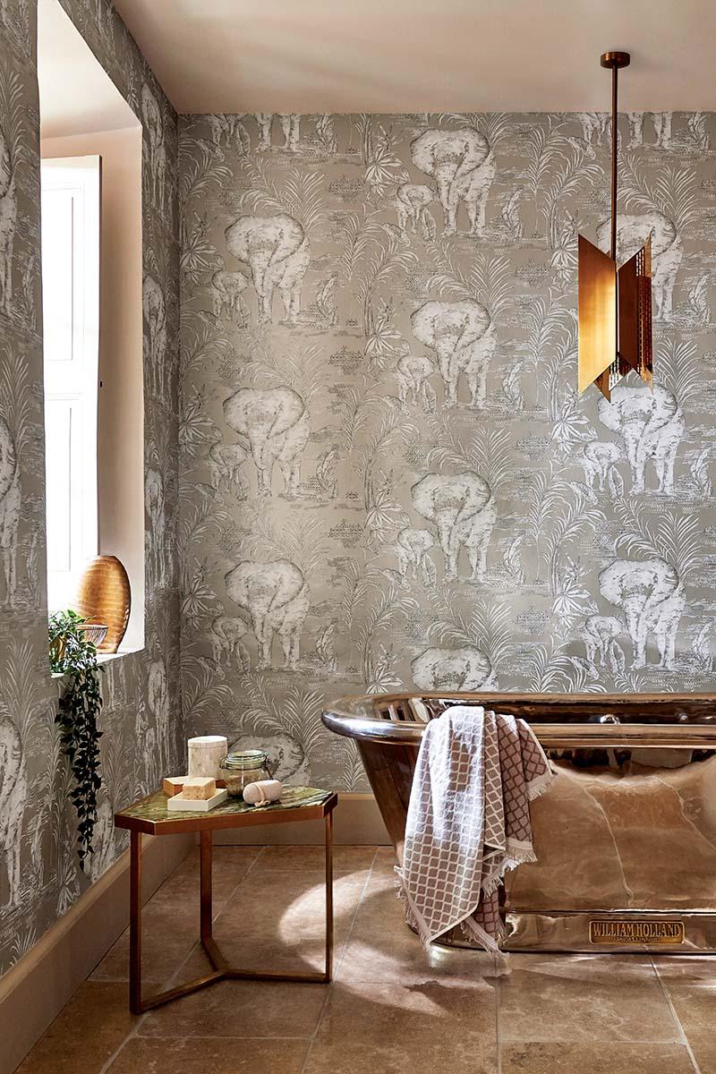 modern classic bathhroom