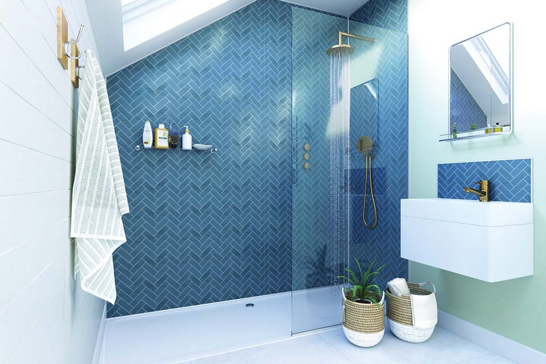 Paint Tiles And Wallpaper For Bathroom, Wallpaper For Bathroom Walls