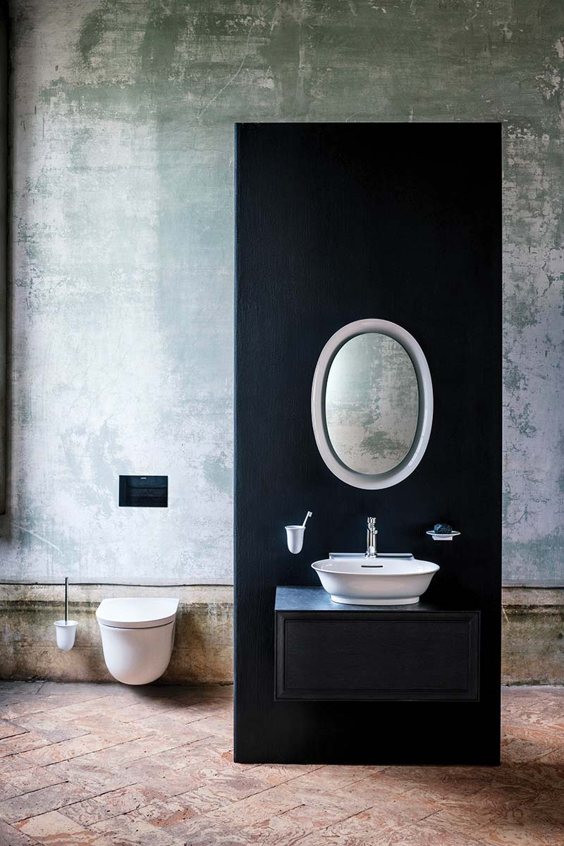 modern classic bathrooms