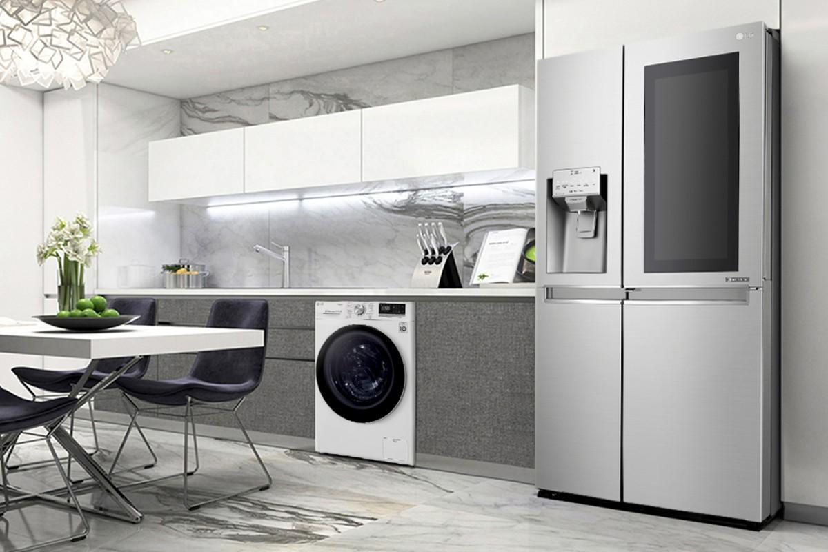 LG appliance guide knock freezer